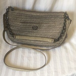 Eric Javits Powchky Shopper Purse in Bronze